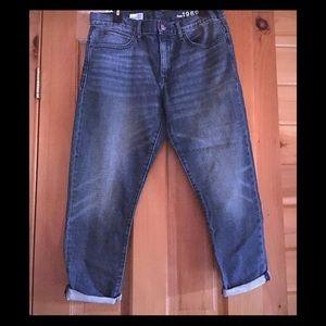 Gap Capri jeans Pegged Boyfriend Size 29/8
